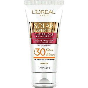 Protetor Solar Expertise Facial Antirrugas Fps30 50g