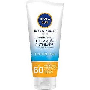 Protetor Solar Corporal Beauty Expert Fps60 Nivea Sun 150ml