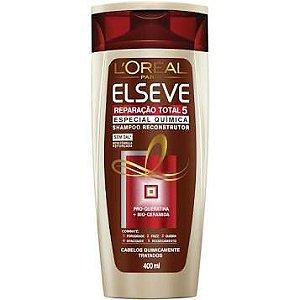 Shampoo Elseve Especial Química 400ml