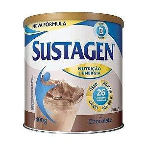Sustagen Complemento Alimentar Adulto Sabor Chocolate 400g