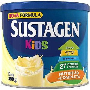 Sustagen Kids Baunilha Complemento Alimentar Infantil 380g