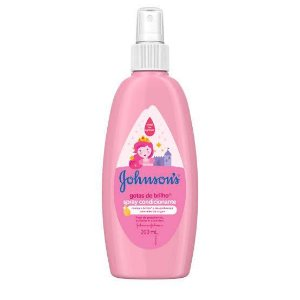 Spray Finalizador Johnson's Baby Gotas de Brilho 200ml