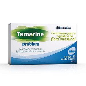 Tamarine Probium Probióticos com 15 Cápsulas
