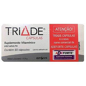 Triade Suplemento Vitamínico com 60 Cápsulas