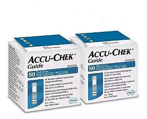Accu-Chek Guide 50 Tiras Reagentes 2 Unidades