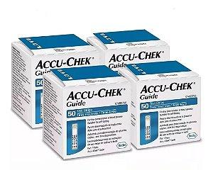 Accu-Chek Guide 50 Tiras Reagentes 4 Unidades