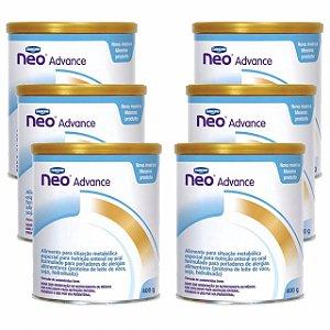 Fórmula Infantil Neocate Advance 400g 6 Unidades