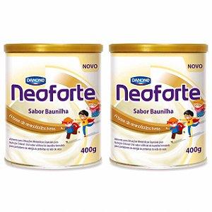 Neoforte Suplemento Infantil Sabor Baunilha 400g 2 Unidades