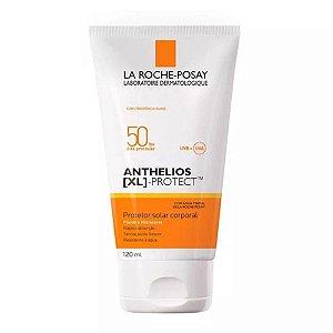 Anthelios Xl Protect Fluído Corporal Facial Fps 50 120ml