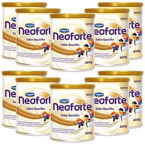 Neoforte Suplemento Infantil Sabor Baunilha 400g 10 Unidades
