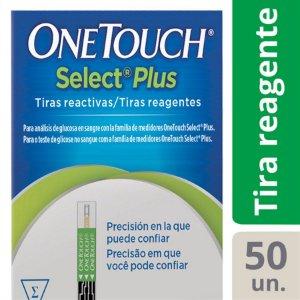 Tiras Reagentes One Touch Select Plus 50 unidades