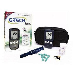 Aparelho Medidor de Glicemia G-Tech Free 1