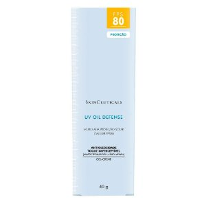 Protetor Solar SkinCeuticals UV Oil Defense FPS 80 40g