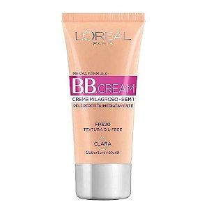 B.B. Cream Creme Milagroso 5 em 1 Base Clara 30ml Fps 20