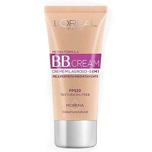 B.B. Cream Creme Milagroso 5 em 1 Base Morena 30ml Fps 20