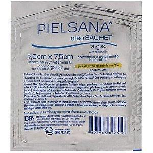 Curativo Gaze De Rayon Pielsana 7,5 X 7,5cm Unidade Validade 06/2022