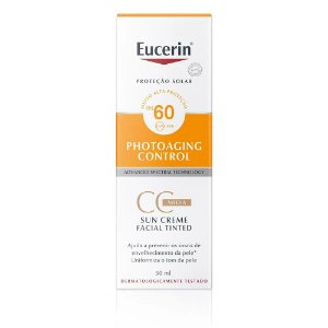 Protetor Solar Eucerin Photoaging Control CC Cream Média 50ml