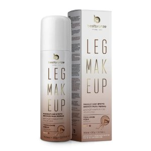 Leg Makeup Para Pernas Best Bronze Média 150ml