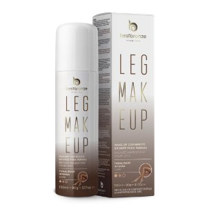 Leg Makeup Para Pernas Best Bronze Intensa Dark 150ml