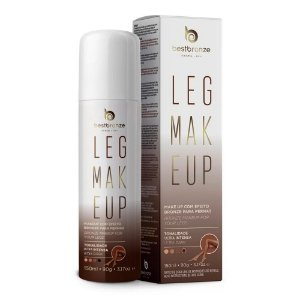 Leg Makeup Para Pernas Best Bronze Ultra Intensa Dark 150ml