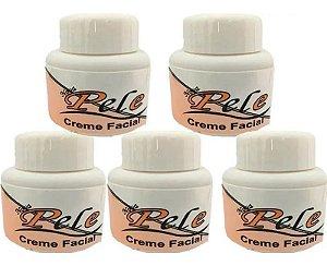 Creme Facial Clareador Melasma Nova Pele 25g 5 Unidades