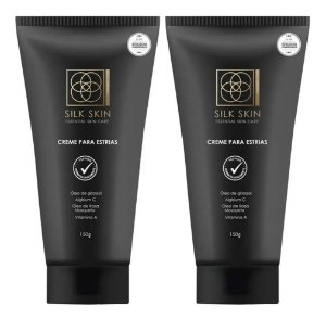 Silk Skin Creme Para Estrias 150g 2 Unidades