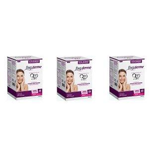 Colágeno Hidrolisado Fixa Derme Q10 + Vit C Com 45 Gomas 3 Unidades