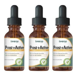 Prost Active Para Diminuição Da Próstata 30ml 3 Unidades - Original