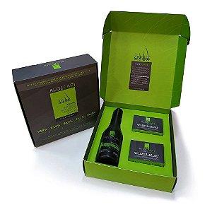 AloeCapi Kit de Tratamento Capilar 2 Shampoos Sólidos 90g + Finalizador 250ml