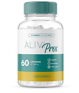 Alivi Pros Suporte Abrangente a Próstata Com 60 Cápsulas