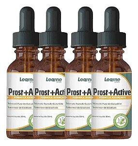 Prost Active Para Diminuição Da Próstata 30ml 4 Unidades - Original