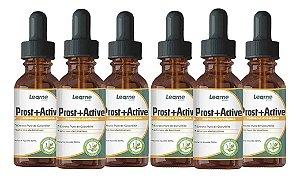 Prost Active Para Diminuição Da Próstata 30ml 6 Unidades - Original