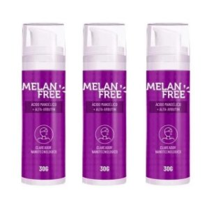 Clareador Melan Free 30g Remove Manchas e Melasma 3 Unidades - Original