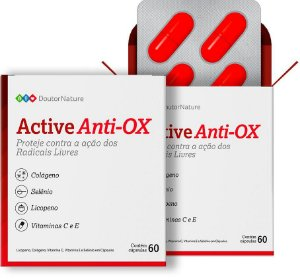 Active Anti-OX Com 60 Cápsulas