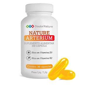 Nature Arterium Suplemento Alimentar Com 30 Cápsulas