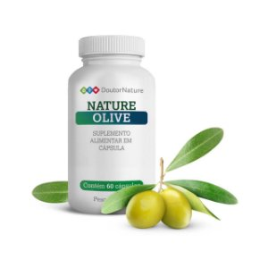 Nature Olive Suplemento Alimentar Com 60 Cápsulas