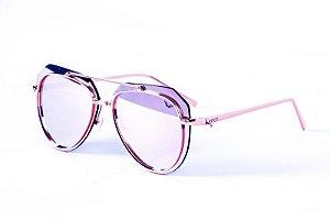 Óculos Metal Feminino - 3162 Rosa