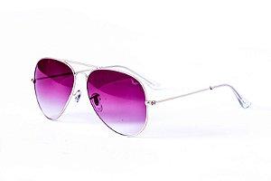 Óculos Metal Feminino - 3026 Rosa