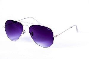 Óculos Metal Feminino - 3026 Roxo