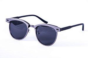 Óculos Acetato e Metal Unissex - 0911 Prata