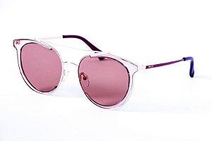 Óculos Metal Feminino - 114 Marrom
