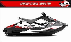Adesivo Jet Ski Seadoo Spark - Cinza Chumbo
