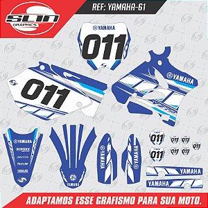 Adesivo Yamaha YZ 125/250 - Racing