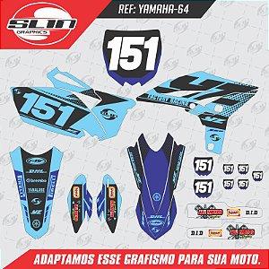 Adesivo Yamaha Fmf Racing