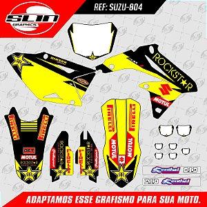 Adesivo Suzuki RMZ 250/450 - Equipe Rockstar Energy Clement Desalle
