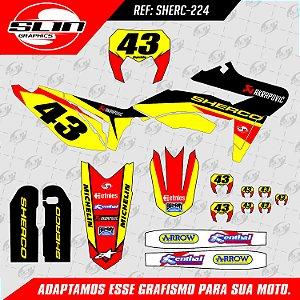 Adesivo Sherco Factory Racing Akrapovic