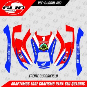 Adesivo QuadriciClo - Honda Four Trax 08 12