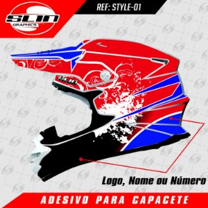 Adesivo Capacete - Style Edition
