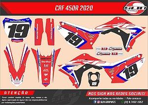 Adesivo Honda Racing Ken Roczen
