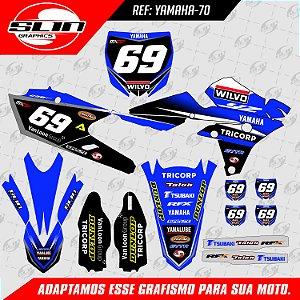 Adesivo Yamaha YZF 250/450 - Equipe Wilvo Racing - MXGP